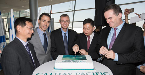 Cathay Pacific launches new flight linking Hong Kong and Tel Aviv