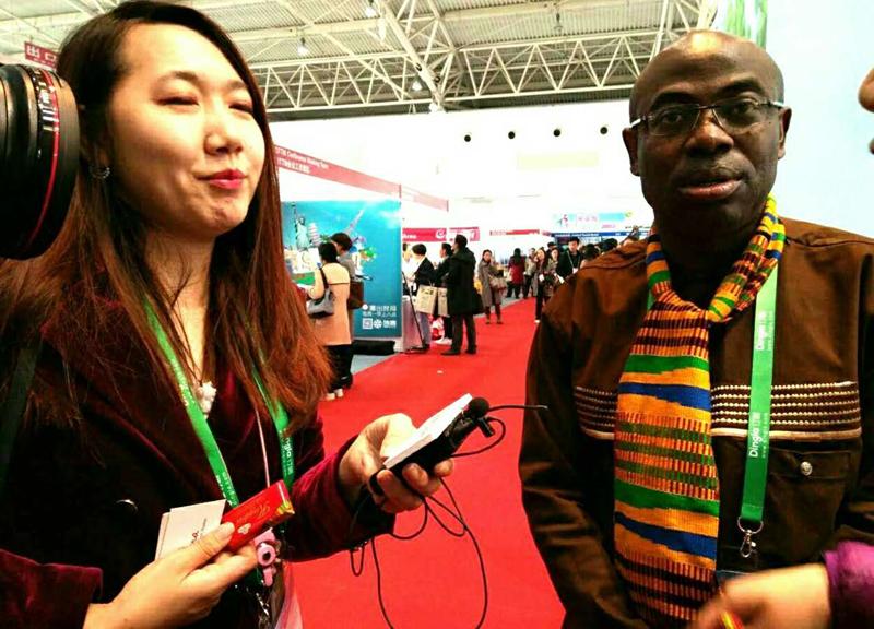 加纳旅游局市场经理Ben Anane.Nsiah先生接受专访