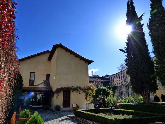 西班牙巴利亚多利德索里利亚故居博物馆玫瑰园