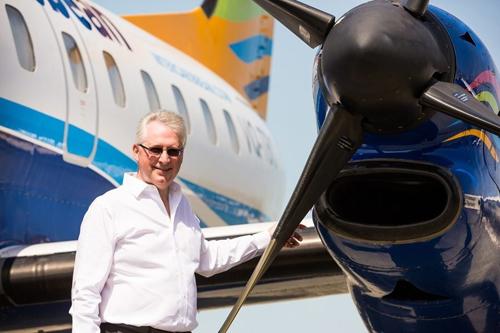 加勒比航空首席执行官特雷弗·萨德勒