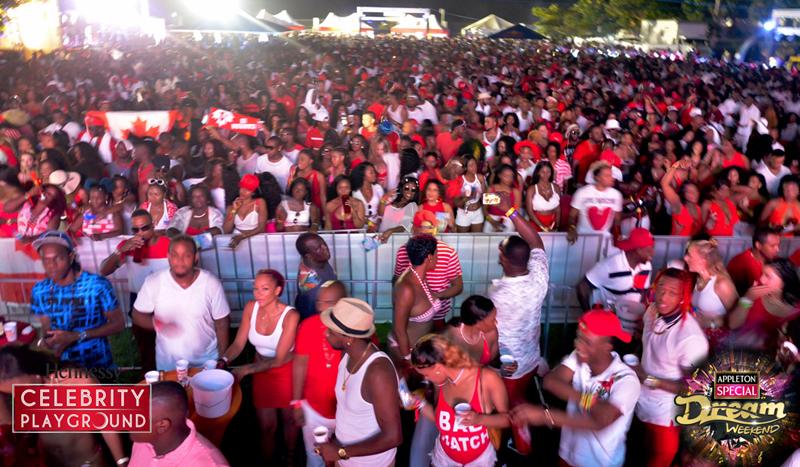 牙买加梦想周末红白派对