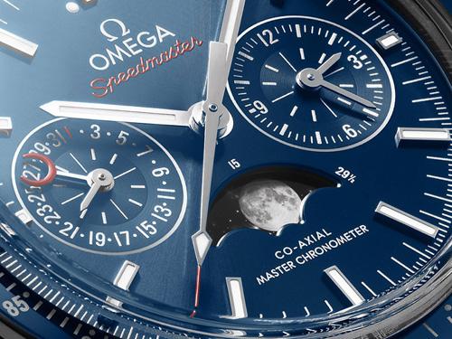 欧米茄超霸月相腕表