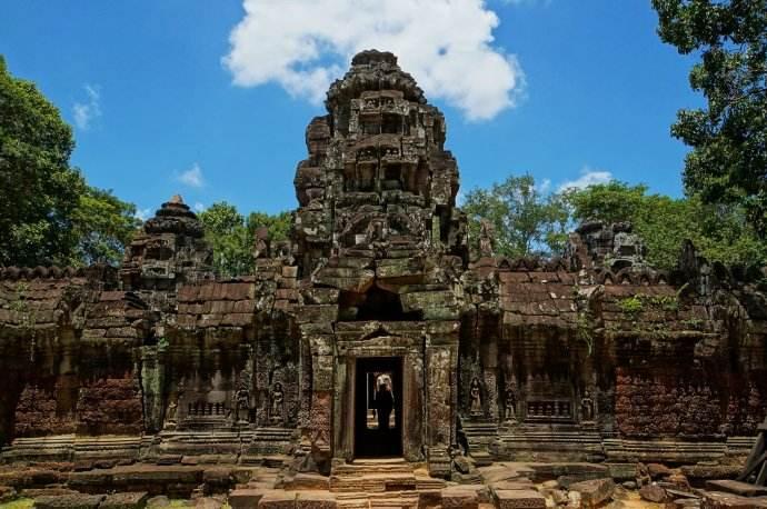 柬埔寨暹粒省吴哥窟