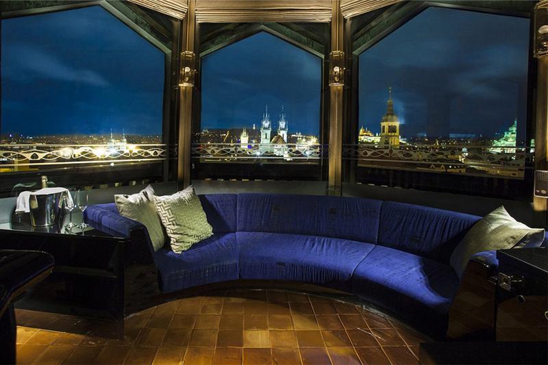 捷克布拉格巴黎大酒店客房