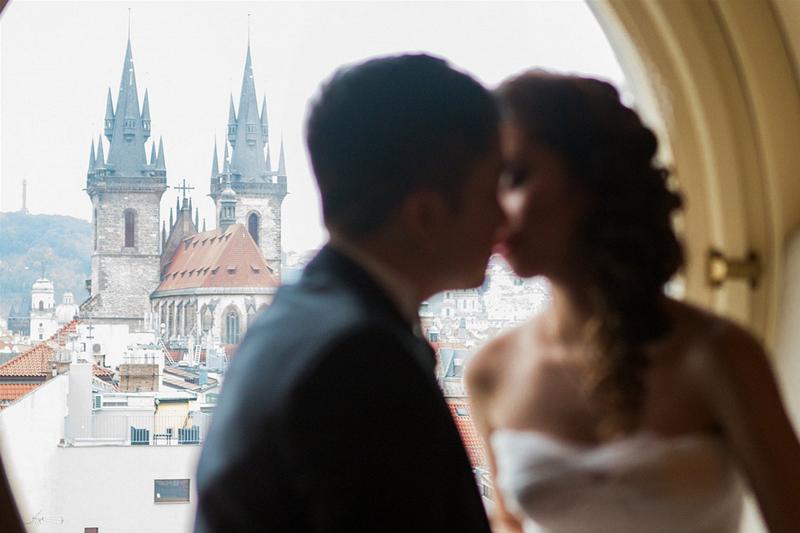 捷克布拉格巴黎大酒店客房婚礼