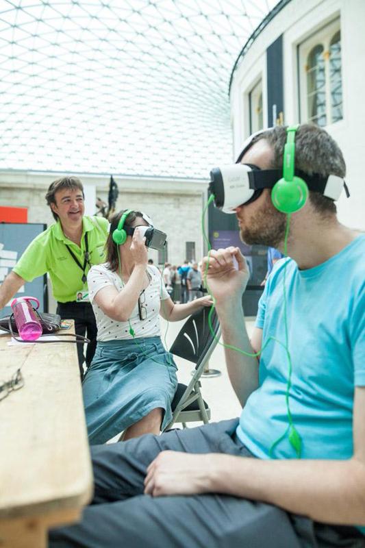 大英博物馆VR体验