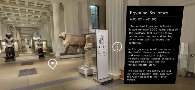 大英博物馆WebVR体验