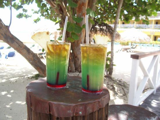 牙买加刨冰甜筒Sky Juice