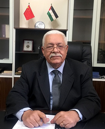 巴勒斯坦驻华大使法里兹·马赫达维
