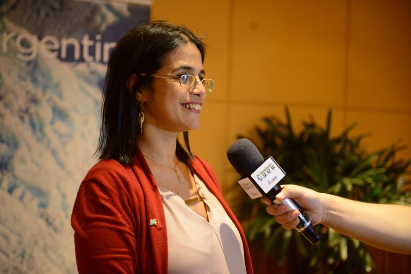 专访阿根廷驻上海总领事馆签证旅游领事María Virginia Yapur