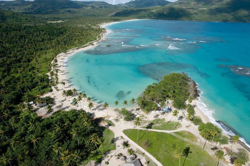多米尼加萨马纳里肯海滩