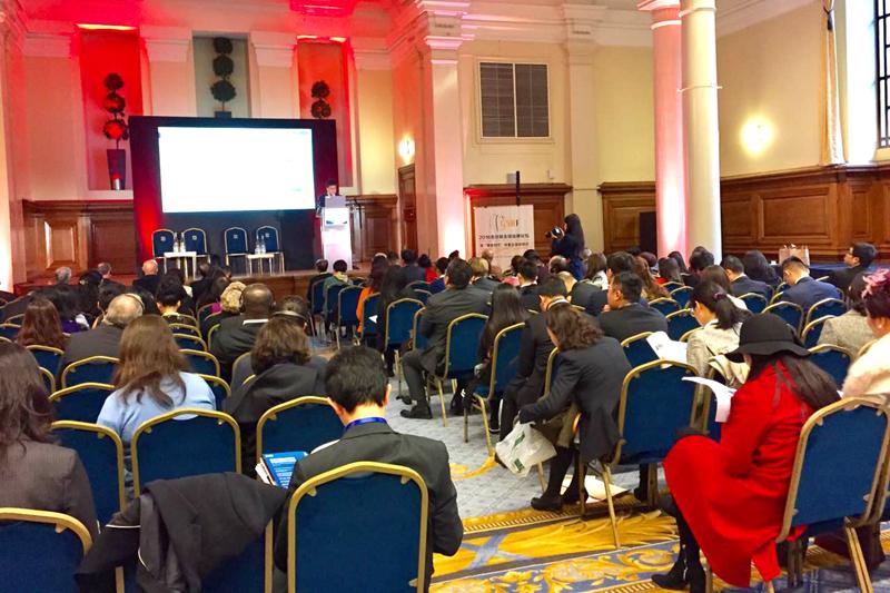 首届金丝路全球品牌论坛在伦敦威斯敏斯特中央大厅举办