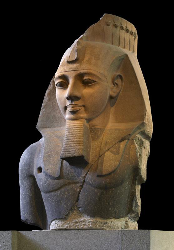 大英博物馆拉美西斯二世头像