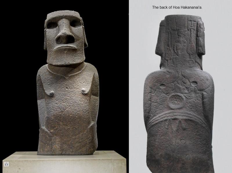 大英博物馆复活节岛石雕