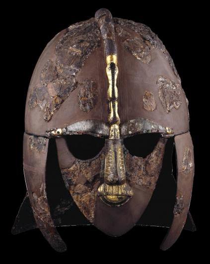 大英博物馆萨顿胡船葬