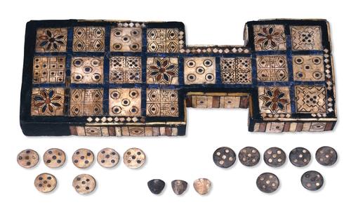 大英博物馆乌尔皇室博弈