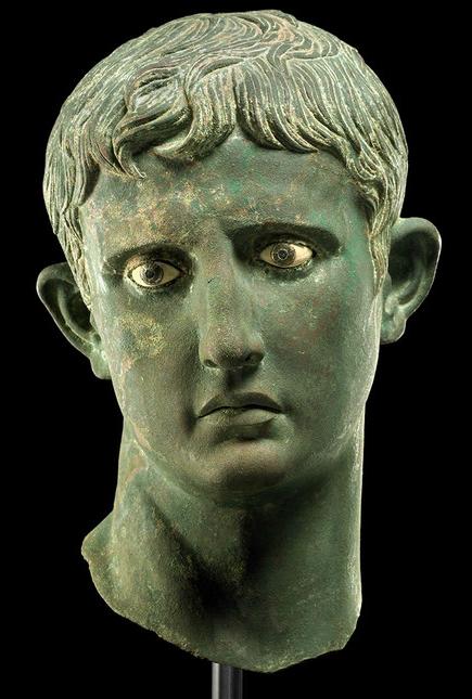 大英博物馆奥古斯都头像