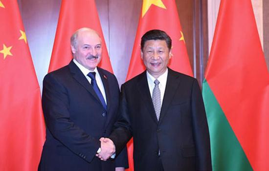 Xi Jinping Meets with President Alexander Lukashenko of Belarus