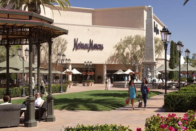 美国加州橙县时尚岛购物中心