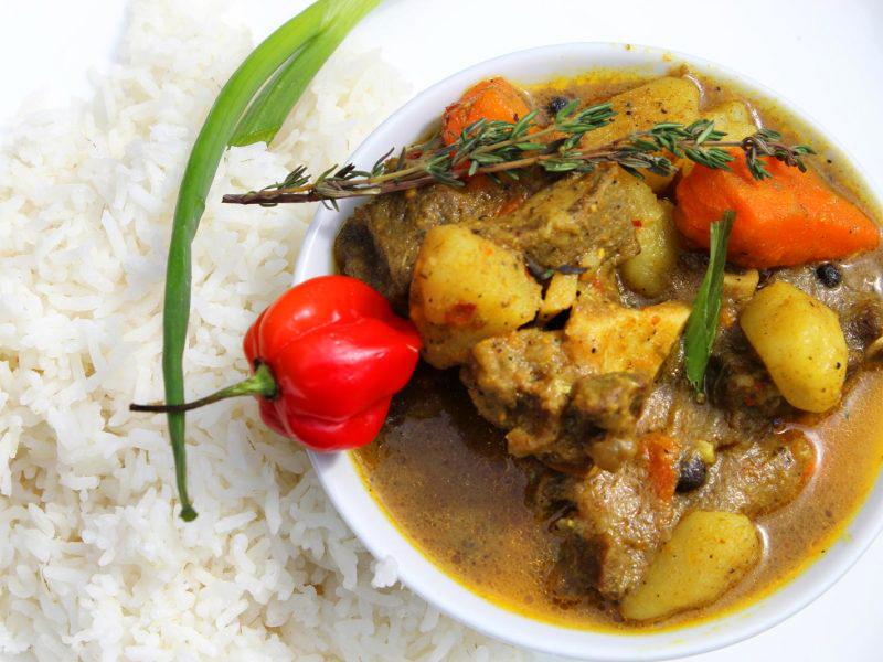 牙买加咖喱羊肉