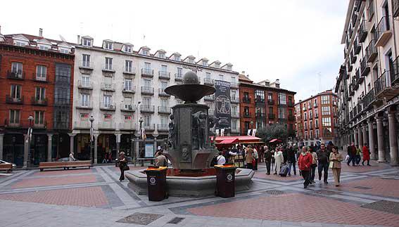西班牙巴利亚多利德市Ferrari-Plaza de Fuente Dorada购物街