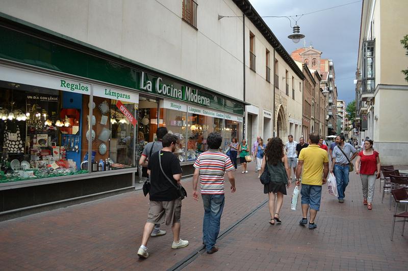 西班牙巴利亚多利德市Teresa Gil购物街
