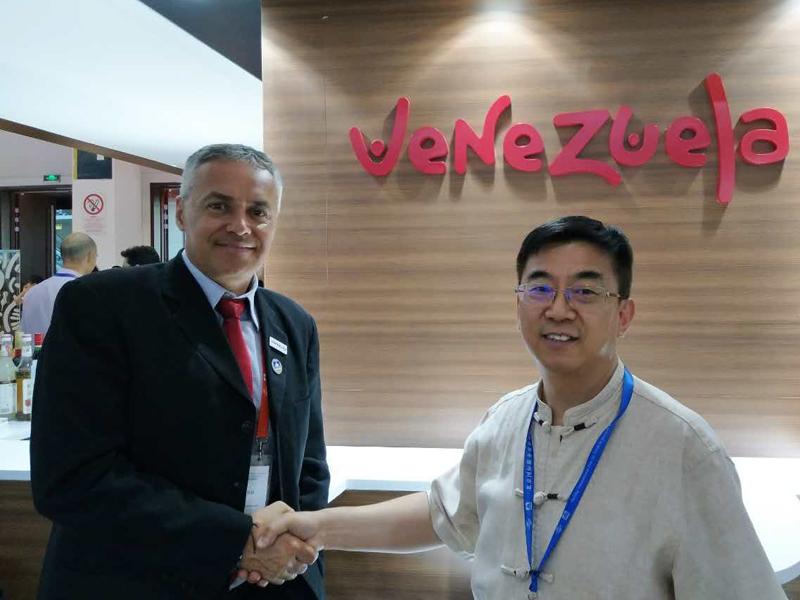 委内瑞拉旅游部副部长Mr. Alí Padrón