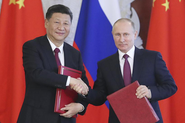Xi's Moscow visit