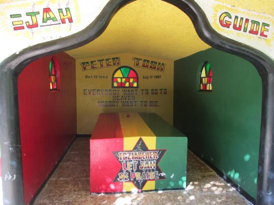 牙买加南海岸皮特·托什陵墓
