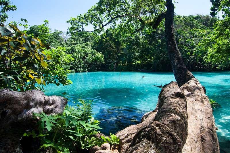 牙买加安东尼奥港蓝色泻湖