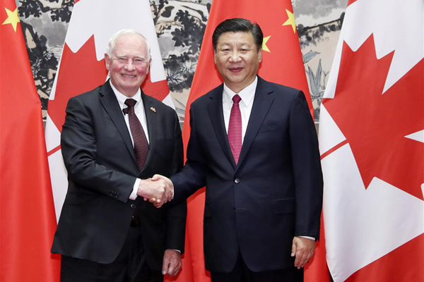 Chinese leaders call for stronger cooperation with Canada