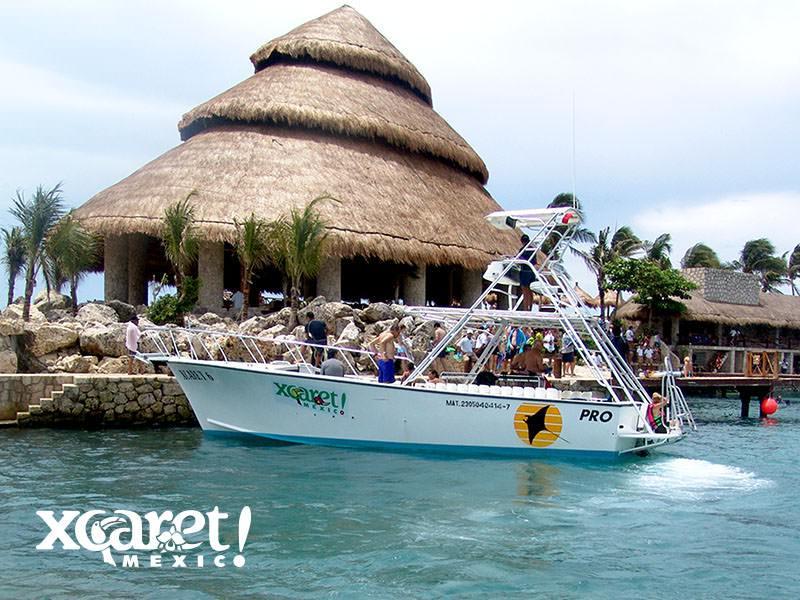 墨西哥西卡莱特暗礁潜水