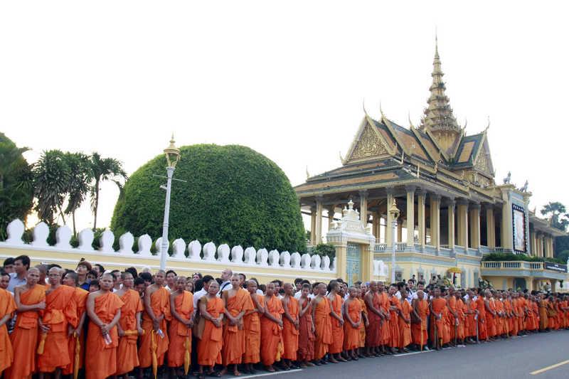 柬埔寨金边大王宫