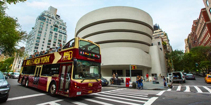 美国纽约大巴士