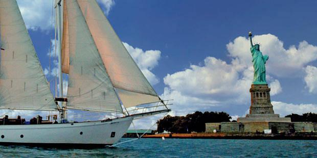 美国纽约海鸥经典帆船巡航