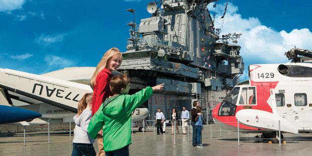 美国纽约无畏号航舰博物馆