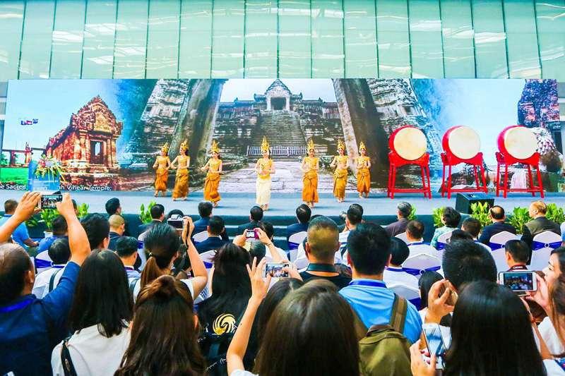 2017西安丝绸之路国际旅游博览会开幕舞蹈