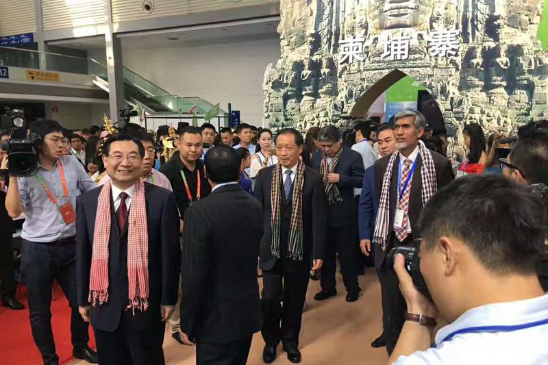 2017西安丝绸之路国际旅游博览会巡馆