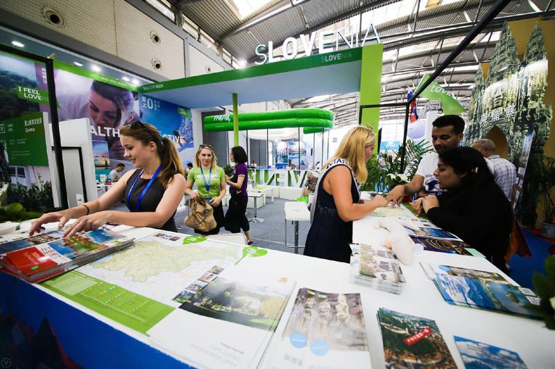 2017年西安丝绸之路国际旅游博览会斯洛文尼亚展台