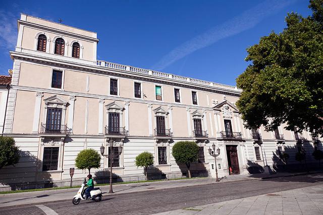 西班牙巴利亚多利德皇宫
