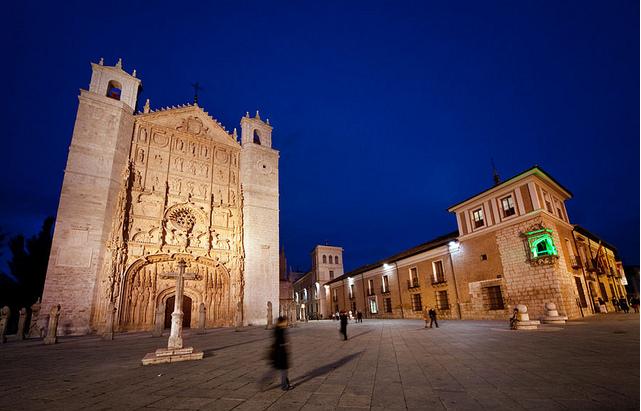 西班牙巴利亚多利德圣保罗教堂