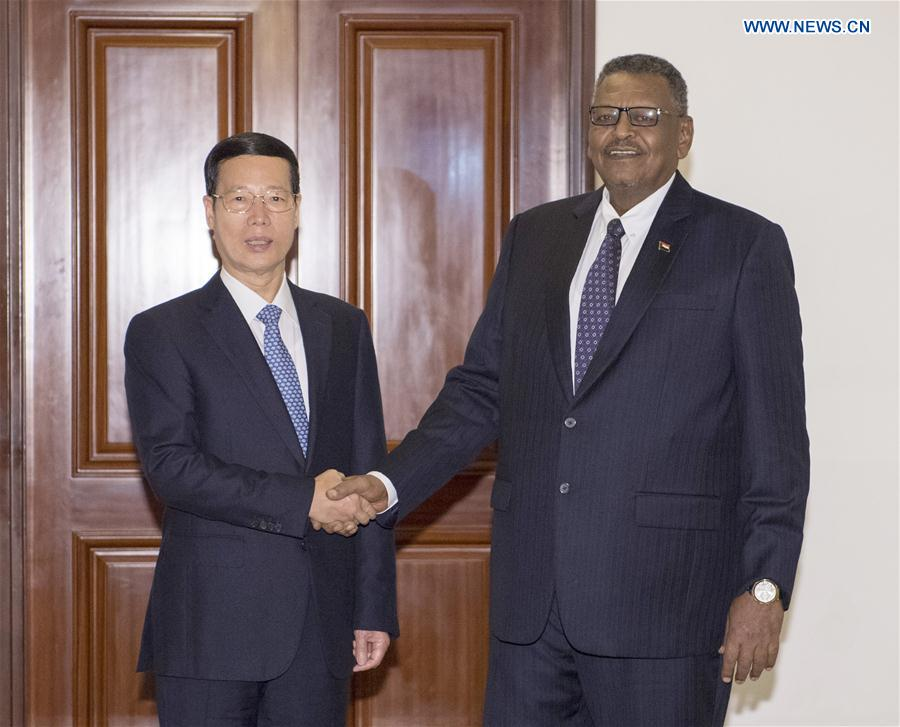 Chinese vice premier meets Sudanese PM