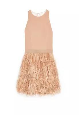 Philomena羽毛裙