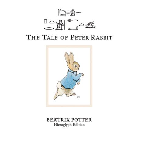大英博物馆象形文字版《彼得兔的故事》