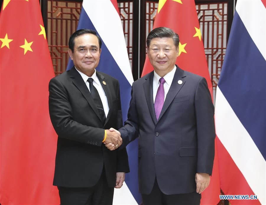 China to enhance cooperation with Thailand: Xi