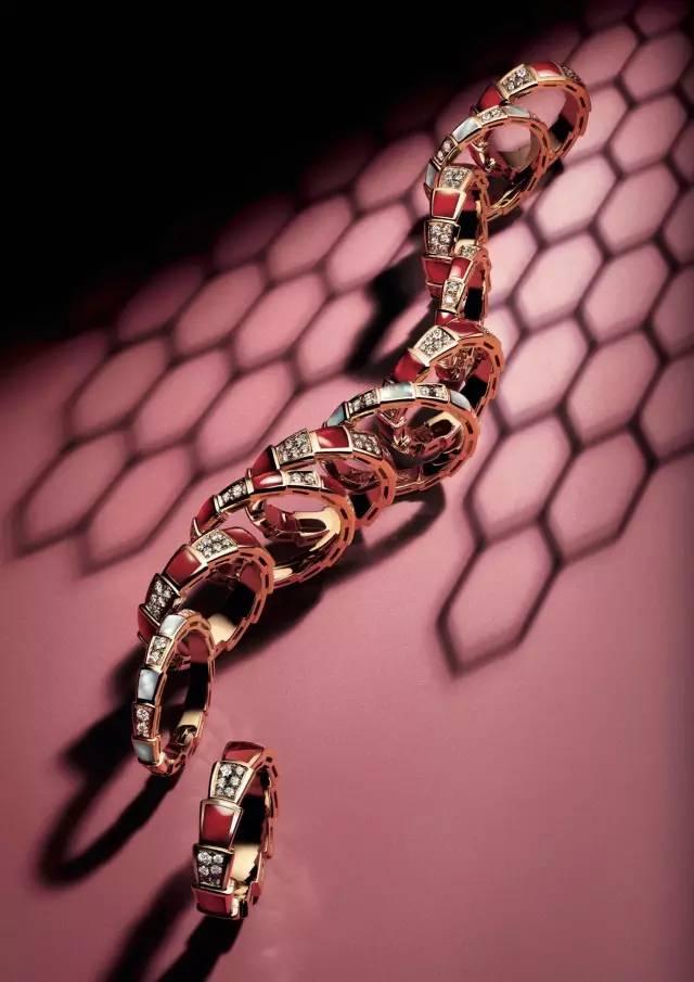 宝格丽Serpenti Viper Ring