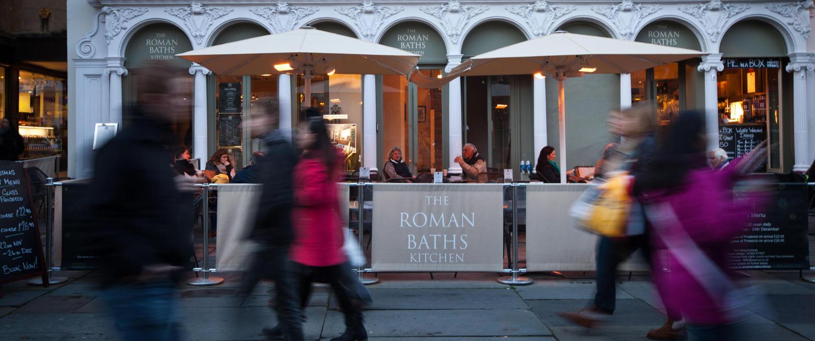 罗马浴场厨房