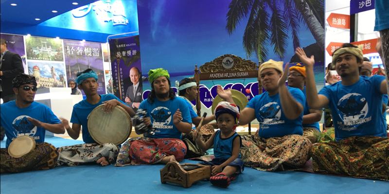 2017广东国际旅游产业博览会马来西亚展馆