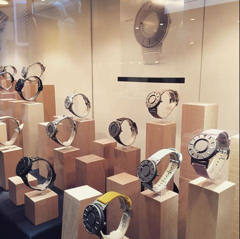 大英博物馆永久收藏品Bradley触觉磁力腕表
