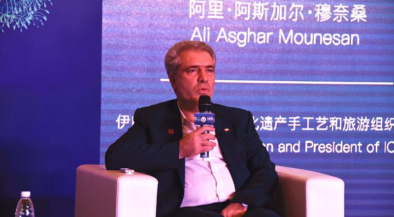 伊朗副总统阿里·阿斯加尔·穆奈桑